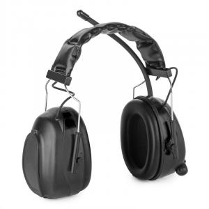 Jackhammer 2.0 Noise-cancelling Headphones FM AUX-In Radio SNR 28dB ABS/Steel black Black