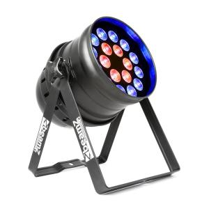 BPP210 LED Par de focos 64 18x 12W 4-in-1 LEDs incluye mando a distancia
