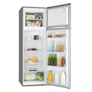 Height Cool Silver Refrigerator Freezer Combination 199/53l2-Door A++ Silver Silver | 252 Ltr