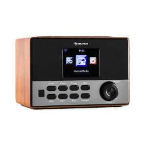 "Connect 90 WD Internetradio Wi-Fi AUX 3,2""-TFT-Färgdisplay Line-Out Brun"