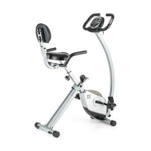 Trajector X-Bike Exercise Bike 1.4 kgOscillating Weight Silver