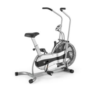 Stormstrike 2k Crosstrainer Exercise Bike Ergometer up to 120 kg Silver Silver