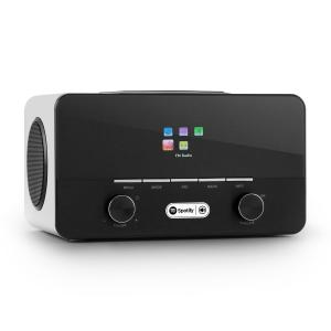 Connect 150 WH 2.1 Internet Radio Mediaplayer WLAN LAN USB DAB+ FM RDS AUX bianco