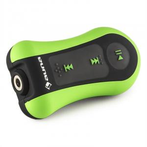 Hydro 4 MP3 Player Green 4GB IPX8 Waterproof Clip incl. Headphones