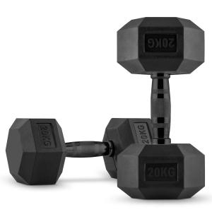 Hexbell Dumbbell pair of dumbbells 2 x 20 kg 2x 20 kg