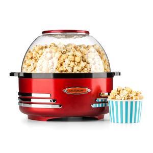 Couchpotato sähköinen popcorn-kone punainen punainen