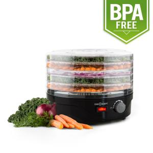 Bonsai Food Dryer 5 Floors Dehydrator 250W Black Black
