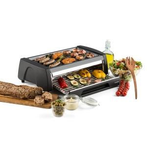 Double Decker 2-in-1 BBQ Grill Oven Nonstick Stainless Steel