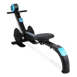 Stringmaster rowing machine 100 kg foldable black / blue Blue