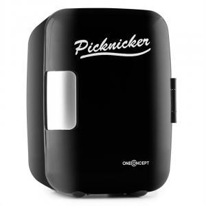 Picknicker Mala Térmica Mini 4L AC DC Auto Certificado eMark - preto Preto