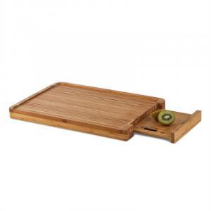 Chopmaster snijplank & keukenweegschaal 5 kg - bamboe