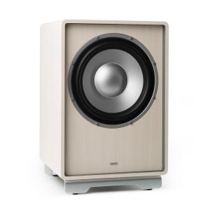 "RetroSub subwoofer activo 25,4 cm (10"") blanco Blanco 