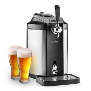 Skal biertap bierkoeler 5l vaten CO2 - rvs stainless_steel_brushed
