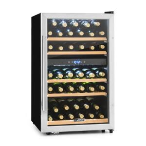 Vinamour 40D wine refrigerator 2 zones 135 L 41 bottles stainless steel front 40 Bottles | 2 cooling zones