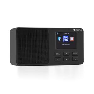 "IR-110 Internet Radio 2.4 ""TFT Colour Display Battery Wifi USB black Black"