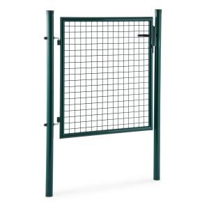 Waldbeck Duraporta 1510 Garden Gate Lattice Gate 1.5m high Steel Lock green