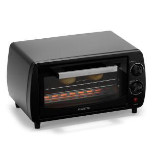 Minibreak miniuuni 11 l 800 W 60 min ajastin 250 °C musta musta