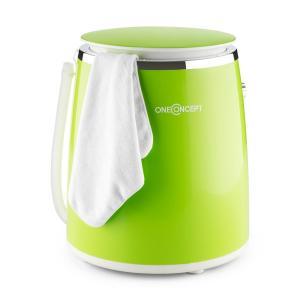 Ecowash-Pico Mini-Waschmaschine Schleuderfunktion 3,5 kg 380W grün Grün