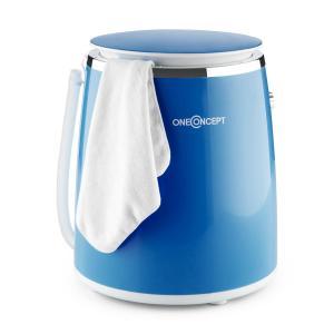 Ecowash-Pico Mini-Waschmaschine Schleuderfunktion 3,5 kg 380W blau Blau