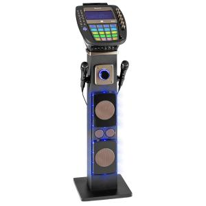 "KaraBig Karaoke Machine Bluetooth LED 7"" TFT CD USB Built-In Speaker"