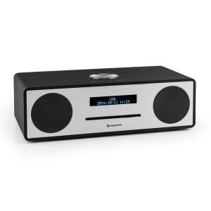 Stanford DAB-CD-Radio DAB+ Bluetooth USB MP3 AUX UKW schwarz