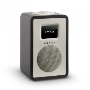 Mini One radio cyfrowe wyświetlacz TFT LCD Bluetooth DAB+ czarne Czarny | No Akku