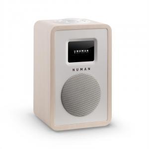 Mini One Design radio de Internet Display color 2,4 TFT Bluetooth DAB+ arce Blanco | No Akku