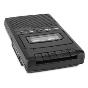 RQ-132USB portabel Kassettbandspelare Dikteringsapparat Tape Recorder Mikro USB USB