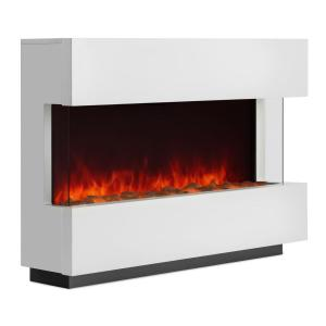 Studio-1 Electric Fireplace LED Flame Simulation 750/1500 W 40m² White 750/1500 W