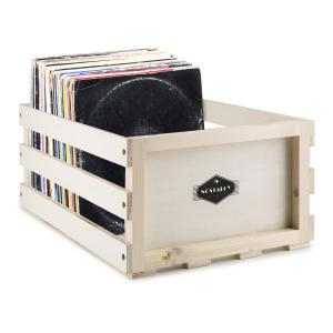 Nostalgie by auna Record Box WD LP-Kista LP-Box Multiplex-/Trä