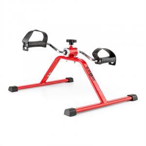 Continus Minirower Trenażer pedałowy ramion i nóg opór manualny czerwony Czerwony