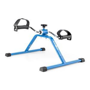 Continus Minirower Trenażer pedałowy ramion i nóg opór manualny niebieski Niebieski