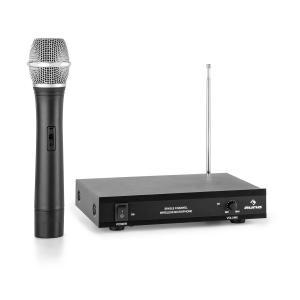 VHF-1-H 1-kanałowy radiowy zestaw mikrofonowy VHF mikrofon ręczny zasięg 50 1 x Mikrofony ręczne