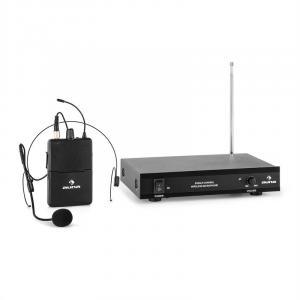 VHF-1-HS 1-kanałowy radiowy zestaw mikrofonowy VHF mikrofon nagłowny zasięg 1 x Nagłowne