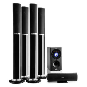 Areal 652 Sistema de altavoces 5.1 canal 145W RMS Bluetooth USB SD AUX
