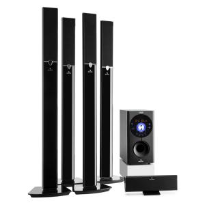 Areal 653 Conj. Surround 5.1 Home-Cinema 145 W RMS Bluetooth USB SD AUX
