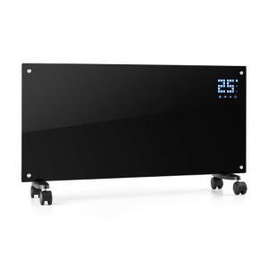 Bornholm Elelement 2000W LCD-Display 2 Uppvärmingsnivåer svart Svart
