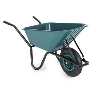 Speedy Bull Wheelbarrow Barn Barrow 100l 200 kg Green