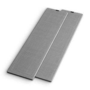 RETROSPECTIVE 1977 MKII Standlautsprecher Cover Paar grau Grau