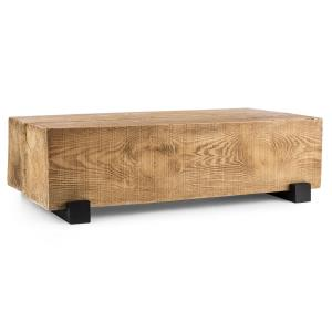 Blockhouse Lounge Balkentisch Gartentisch Timber-Table 120x30x60 cm