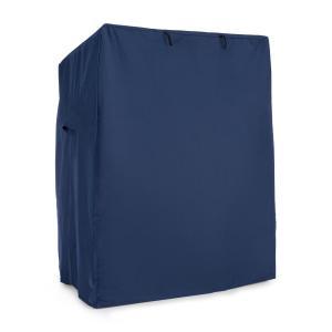 Protection fauteuil cabine plage housse étanche 115x160x90 cm– bleu