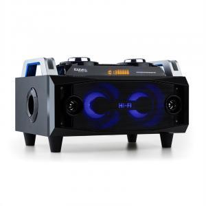 SPLBOX120 Sound-Box-Audiosystem 120W Bluetooth USB/SD UKW LED