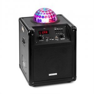 Kube 60 portable Bluetooth speaker box USB SD AUX VHF battery Astro-RGB-L Black