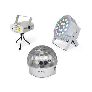 BAT-KIT zestaw efektów świetlnych efekt Astro laser Firefly reflektor PAR