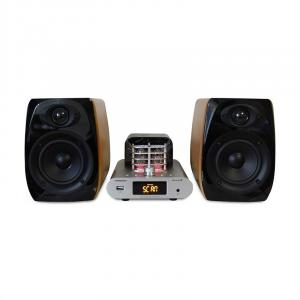 MAD-TA15BT vintage audiosysteem buisversterker 2 x 30W RMS bluetooth USB