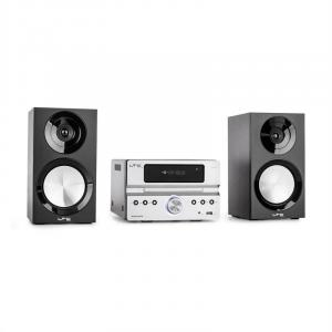 CDM90-SI Micro-HiFi Stereo System 40W Bluetooth USB CD FM/AM silver