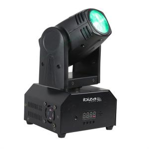 LMH250-RC Moving Head 4-in-1 10W CREE LED RGBW DMX led incl. afstandsbediening