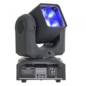 LMH410Z Movinghead 4 x LED RGBW 4 em 1 10W Zoom DMX LED