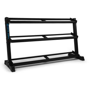 Traytor H Storage Rack Dumbbell Rack 3 Livelli Acciaio nero