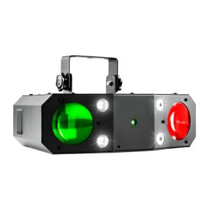 Terminator III 3-in-1 LED-lichteffect Moonflower Laser Stroboscoop